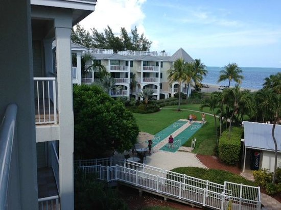 Hyatt Residence Club Key West, Windward Pointe: View from our spacious balcony