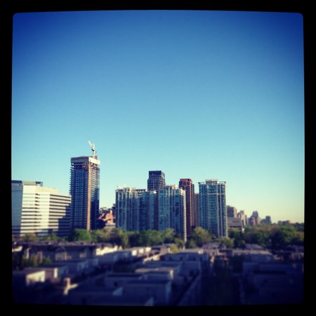 DelSuites Furnished Accommodations: View from the balcony