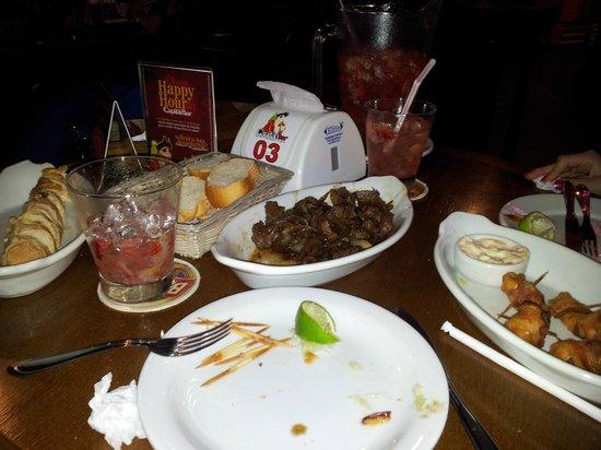 Capitao Bar: Porções