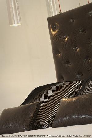 Chateau la Mothe du Barry: Chambre Design