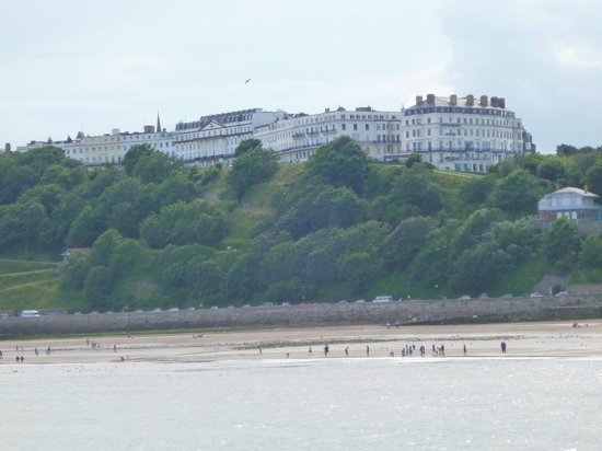 The Crown Spa Hotel: View of hotel from Lighthouse