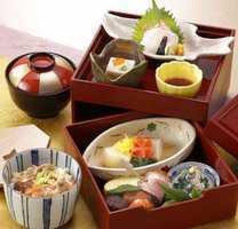 Kyo kaiseki michokichi kyoto shinkyogoku shopping for Restaurant kyo