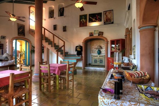 Sayulita Central Hotel Lobby 2