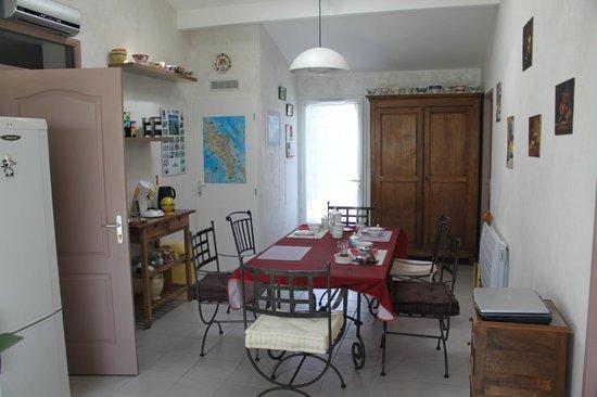 Les Jonchères d'Oleron : salle à manger