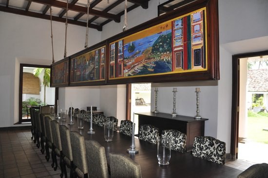 "Tamarind Hill by Asia Leisure : Beautiful dining area from ""old days"""