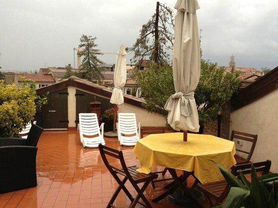 B&B Verona Jazz: terrace