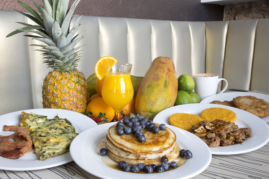 Casa Antigua: Desayunos del Restaurante del Hotel, Pips