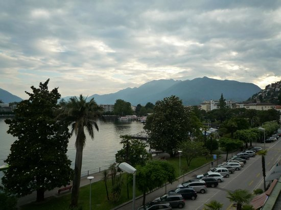 H+ La Palma Hotel & Spa Locarno: View from Room