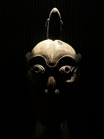 one of the unique masks the decor picture of lost heaven
