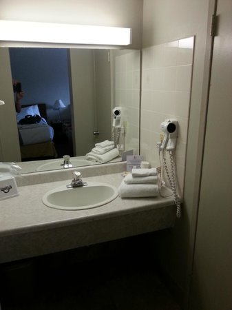 Ramada Kingston Hotel and Conference Center: salle de bain