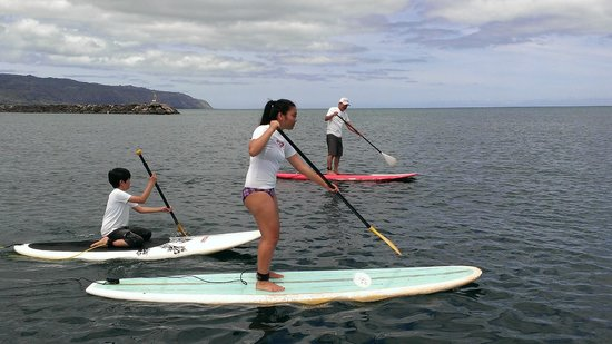 Stand Up Paddle Lessons -- Rainbow Watersports Adventures: SUP