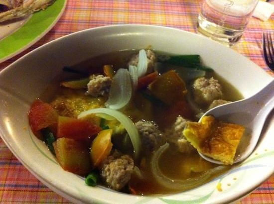 Meekaruna Seafood Restaurant: suppe