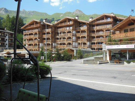La Cordée des Alpes : The front of the hotel