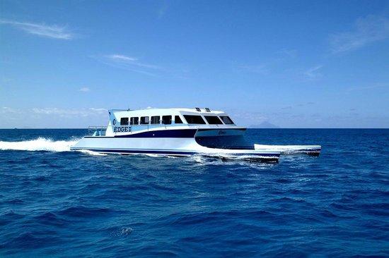 Симпсон-Бей, Сен-Мартен – Синт-Мартен: Edge Ferry Saba and St Barts