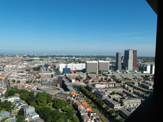 The Hague Tower : View on the center