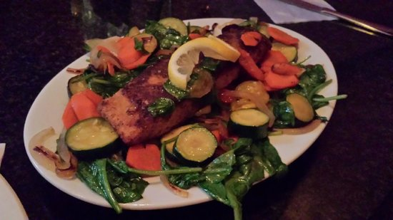East Side Bar & Grill : Salmon special