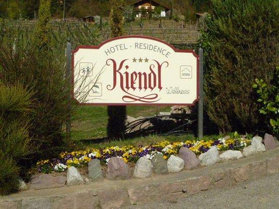Hotel Kiendl: L'INSEGNA