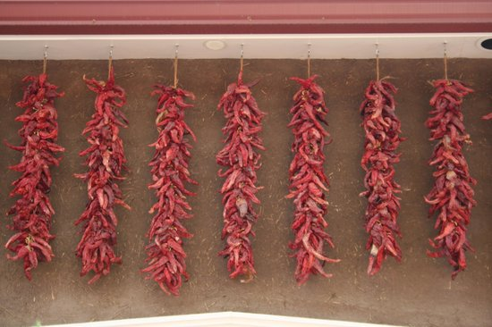 Rancho de Chimayo Restaurante: Hanging Chiles