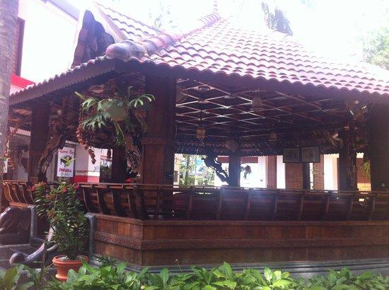 Akhil Beach Resort: Cafeteria...!!!