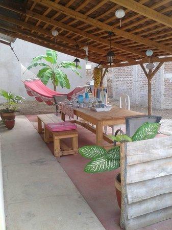 Bed and Breakfast Villa Riviera: The veranda :)
