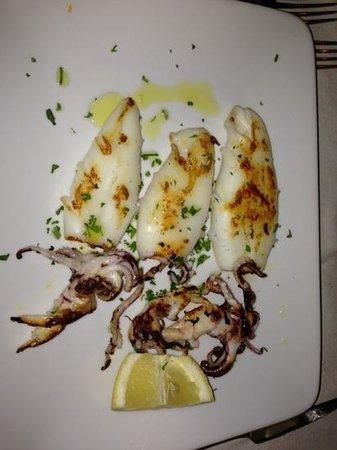 Mario al Tesoro : Calamari grigliati