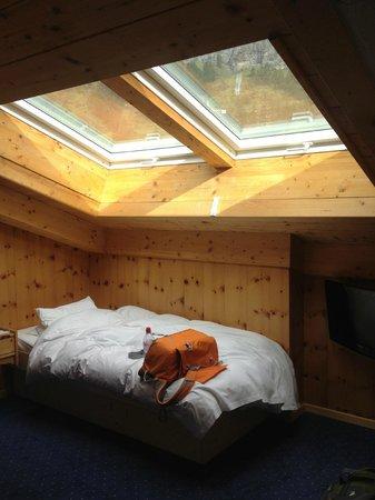Hotel Matterhornblick: sky lights...