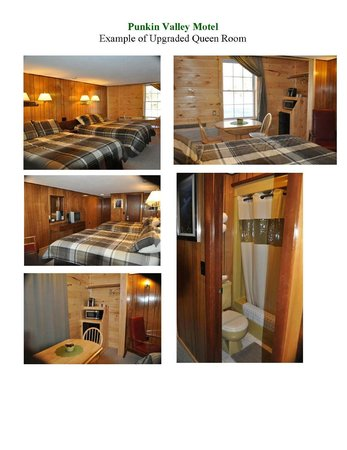 Punkin Valley Restaurant & Motel: Newly renovated and upgraded Queen room