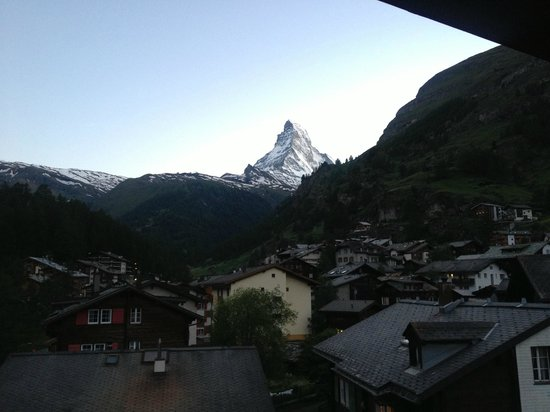 Hotel Matterhornblick: View from my room
