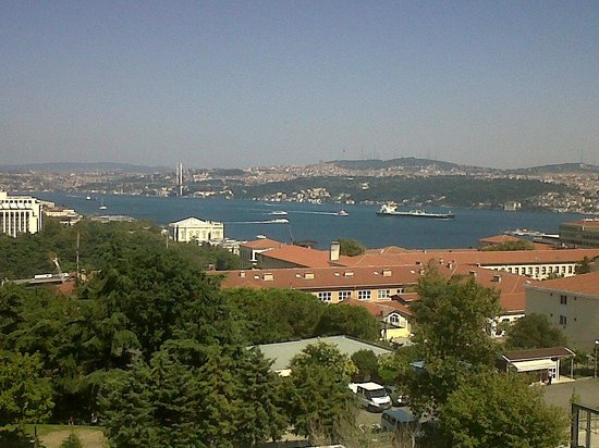 Gezi Hotel Bosphorus: FANTASTIC VIEW FROM MY ROOM