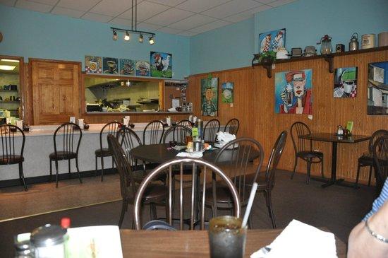 The Corner Cafe: Inside Cafe