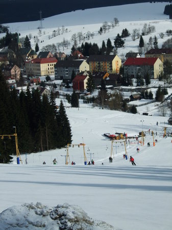 CzechSki Apartments: This is the local slope.
