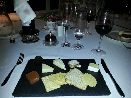 Enterkine House Hotel: cheeseboard