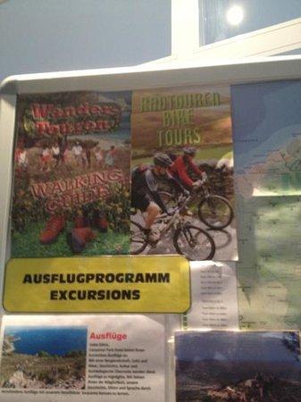 Hotel Canyamel Park: volantini in lingua originale(tedesco)