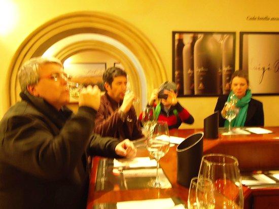 Bodega Luigi Bosca Familia Arizu : Degustação