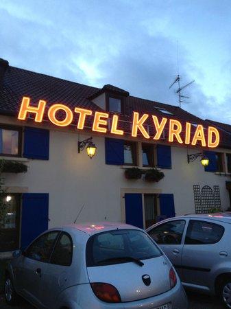 Kyriad Beaune : Hôtel