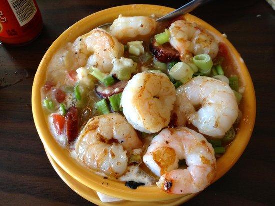Barbara Jean's: Shrimp & Grits