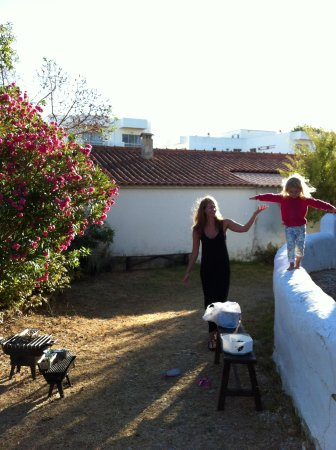 Casa Grande: BBQ and Playing in the garden