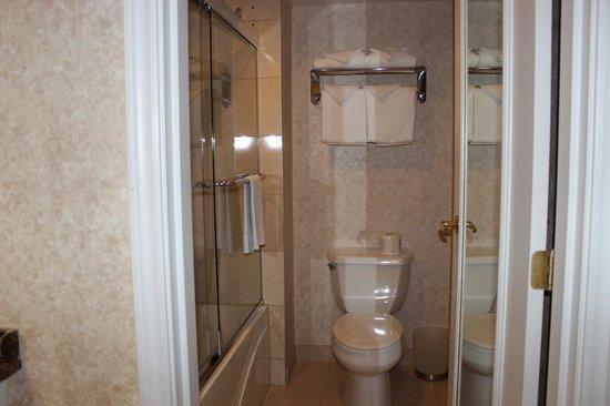 Hôtel Palace Royal : salle de bain fonctionnelle