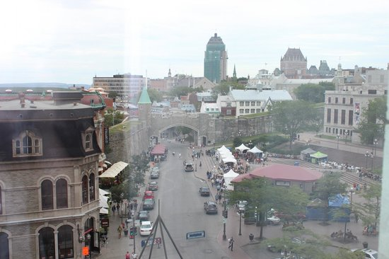 Hôtel Palace Royal : vue panorabique sur le vieux Québec