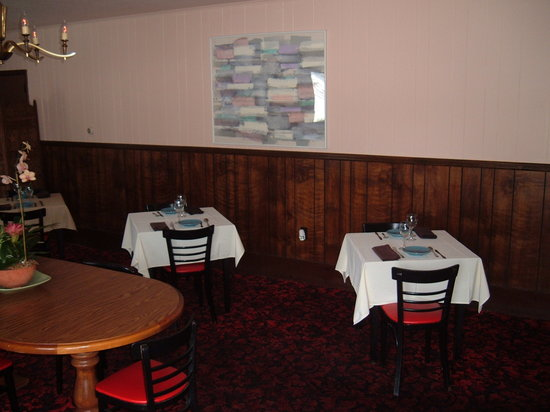 Esopus, estado de Nueva York: dining room
