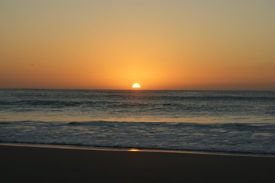 Moya Manzi Beach House: Sonnenaufgang