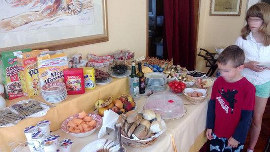 Casa Villa Gardenia: Breakfast room