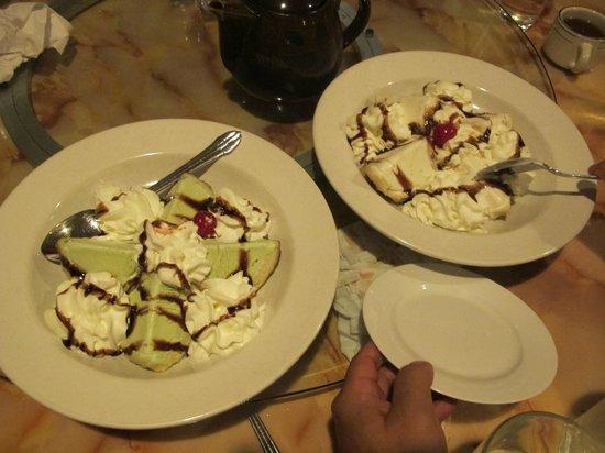 Seven Moons: Tempura Ice Cream