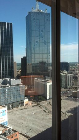 The Fairmont Dallas: 21st floor ... room 2116 ... July 27, 2013
