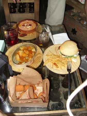 La Tita Rivera: Our table