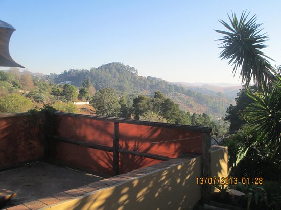 Bombaso's Backpackers Swaziland: View from the bar area