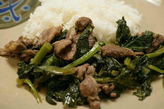Taipei Railroad Restaurant: Satay Beef