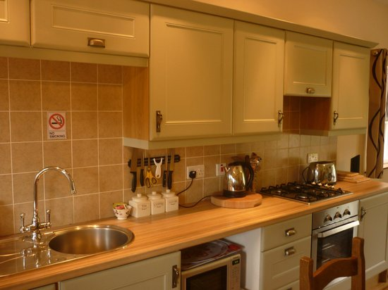 Great Glen Bed and Breakfast : chambre avec cuisine