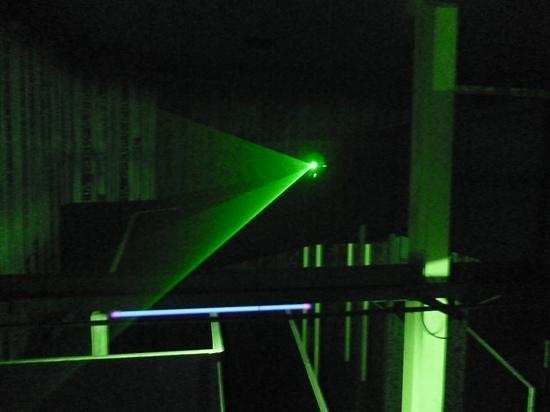 Laser Matrix: I'm gone !