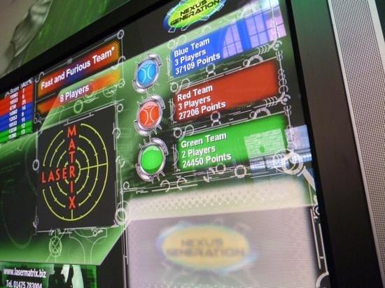 Laser Matrix: The scoreboard doesnae lie !